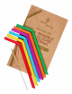 Eco Living Silicone Straw 6 pack